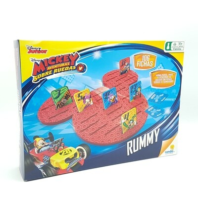RUMMY MICKEY SOBRE RUEDAS