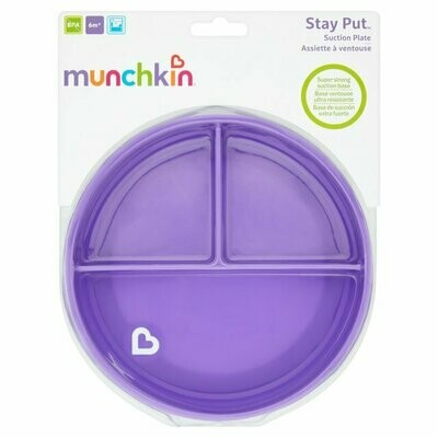 MUNCHKIN PLATO C/DIV STAY PUT SUCTION