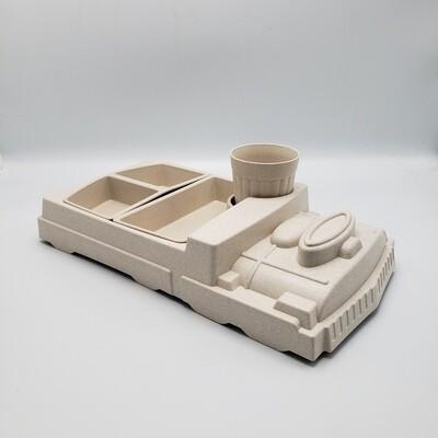 PLATO INFANTIL TRENCITO 3D M8210