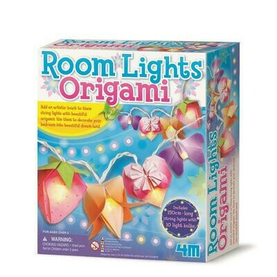 Create Your Own Beautiful Origami Lights 4M