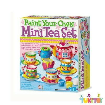 TEA SET PAINTING KIT 4M