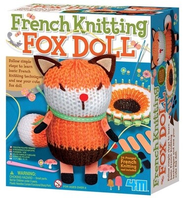 FRENCH KNITTING FOX DOLL 4M