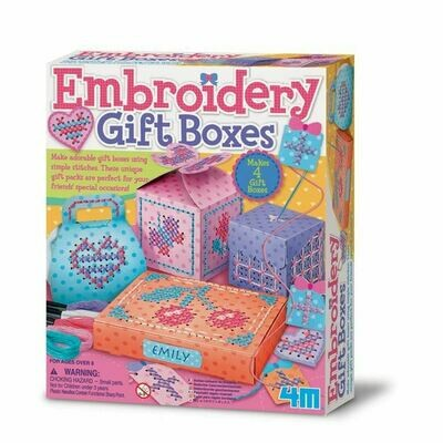Embroidery Gift Boxes 4M