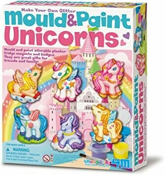 MOULD & PAINT UNICORNS 4M