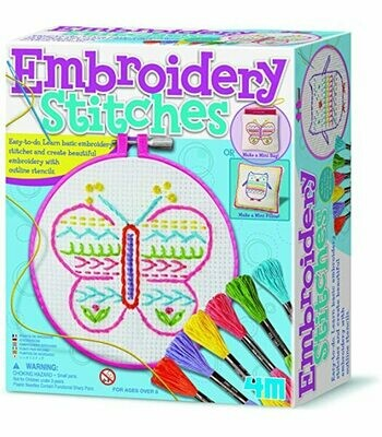 Embroidery Stitches 4M