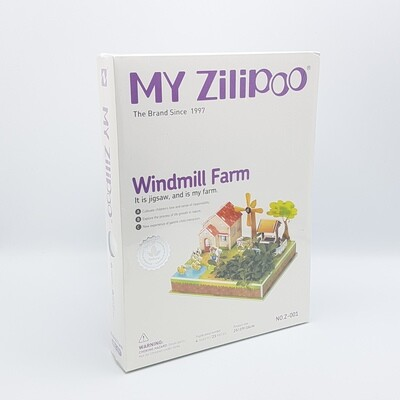 MAQUETITAS MY ZILIPO 3D Z001 Y781 WINDMILL FARM