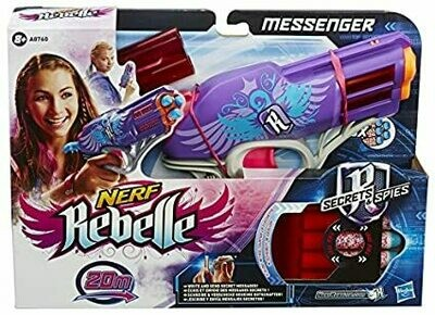 NERF REBELLE SECRETS & SPIES MESSENGER
