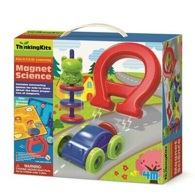 MAGNET SCIENCE THINKING KITS 4M