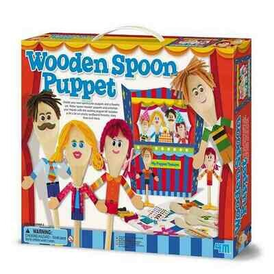 WOODEN SPOON PUPPET 4M