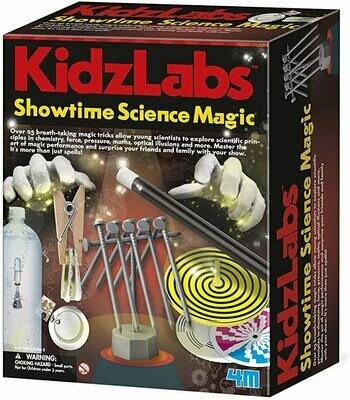 KIDZ LABS / SHOWTIME SCIENCE MAGIC 4M