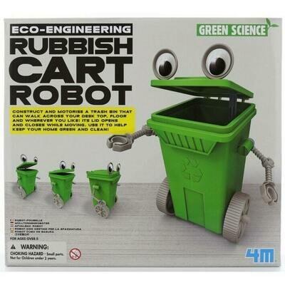 Eco-Engineering / Rubbish Cart Robot 4M