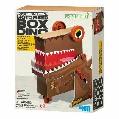BOX DINO GREEN SCIENCE 4M