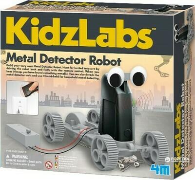 KIDZ LABS METAL DETECTOR ROBOT 4M