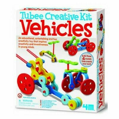 Creative Straw Kit Vehicles 4M