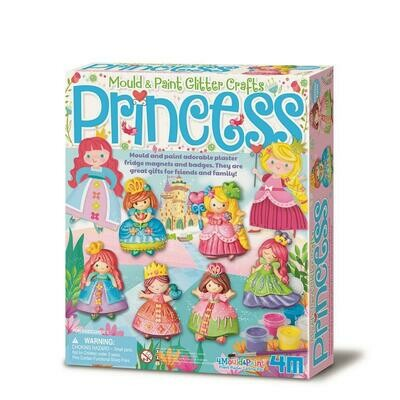 MOULD & PAINT / GLITTER PRINCESS 4M