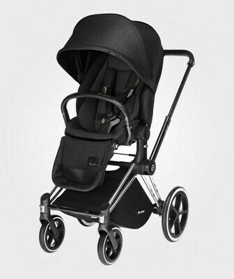 CYBEX CARRITO PLT PRIAM SEAT LUX HAPPY BLACK