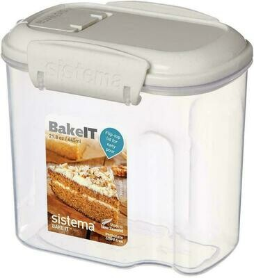 RECIPIENTE 645ML BAKEIT MINI 12X8.7X11.4CM SISTEMA