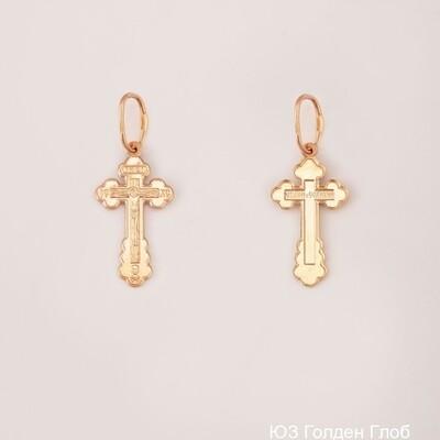 Крест 102-ПР-18.40-11 (Золото 585)