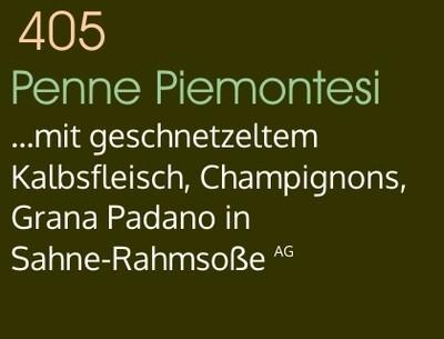 Penne Piemontesi