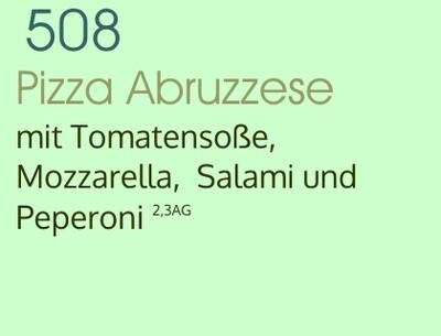 Pizza Abruzzese