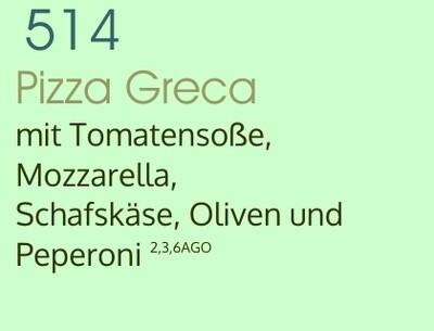 Pizza Greca