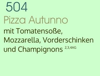 Pizza Autunno
