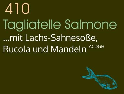 Tagliatelle Salmone