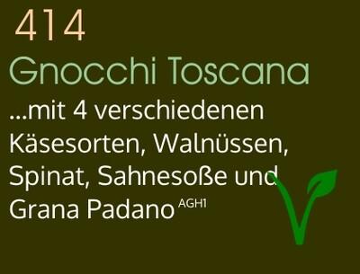 Gnocchi Toscana