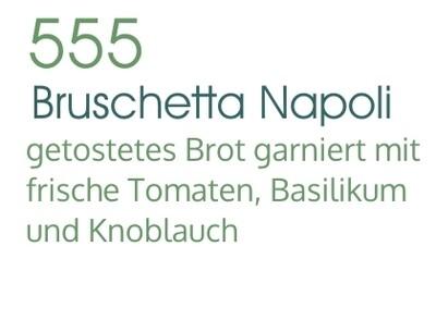 Bruschetta Napoli