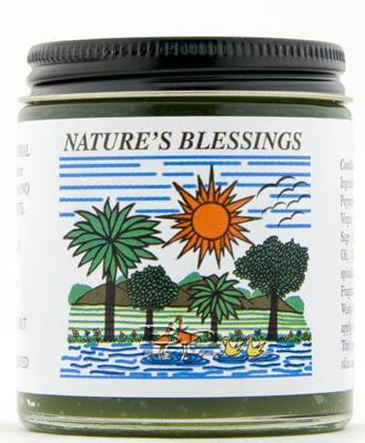 1 case of Nature's Blessing Hair Pomade (4oz Jars)
