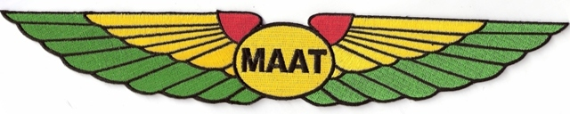 Ma'At Jumbo Wing Patch