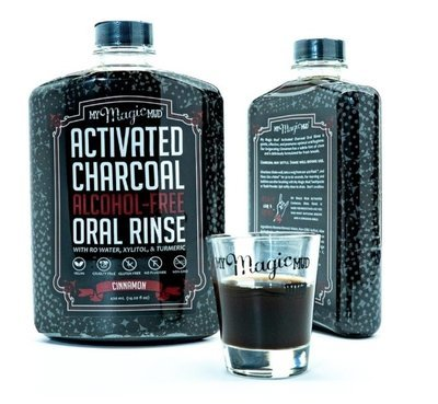 My Magic Mud Activated Charcoal Oral Rinse - Cinnamon (Mouthwash) 14.20 oz