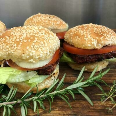 PTV Burger Patties (sold 6 in a pack)