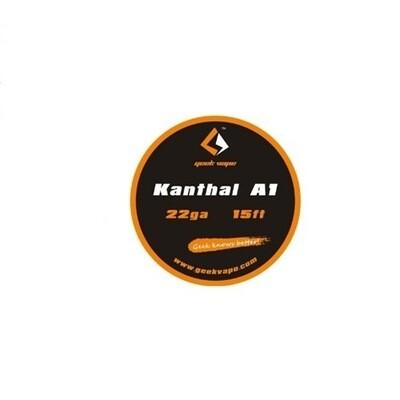 15ft Kanthal A1 Spool 22GA By GeekVape