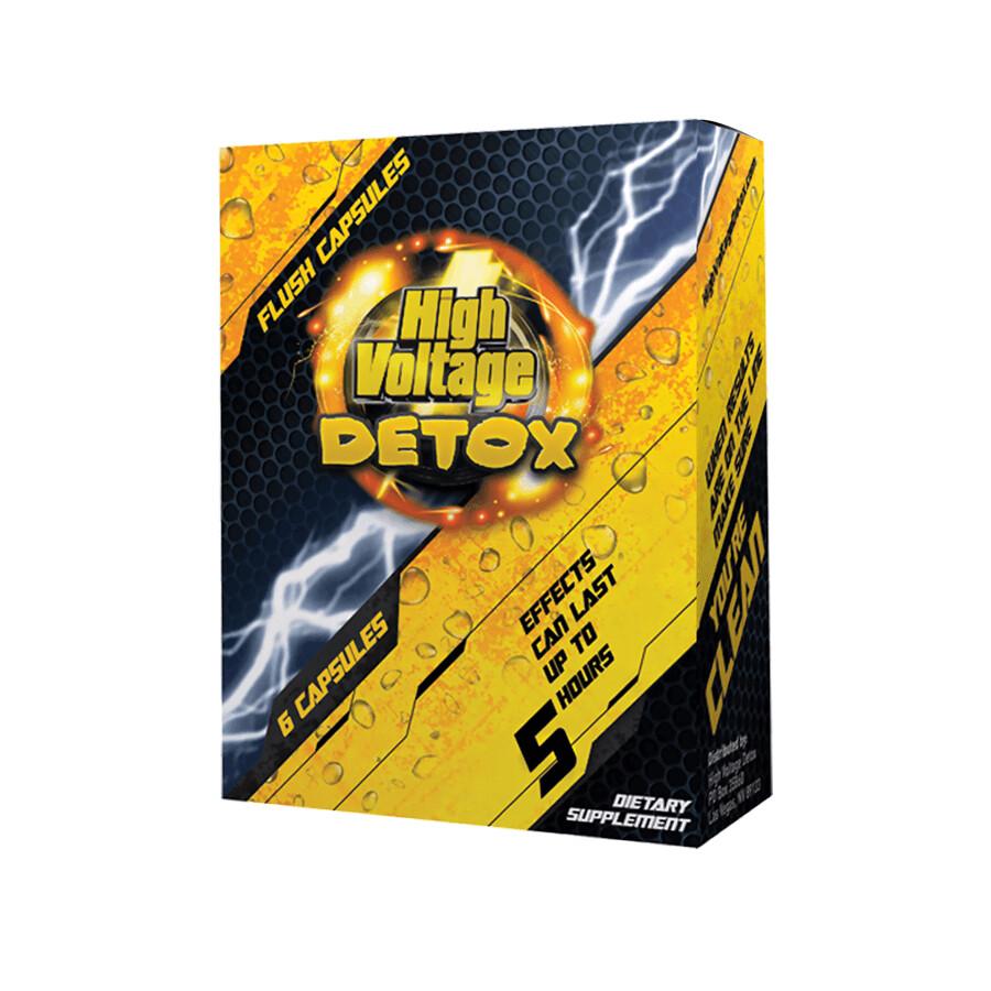 High Voltage Detox Capsules