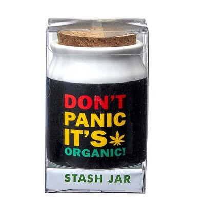 Don't Panic It's Organic Stash Jar 3