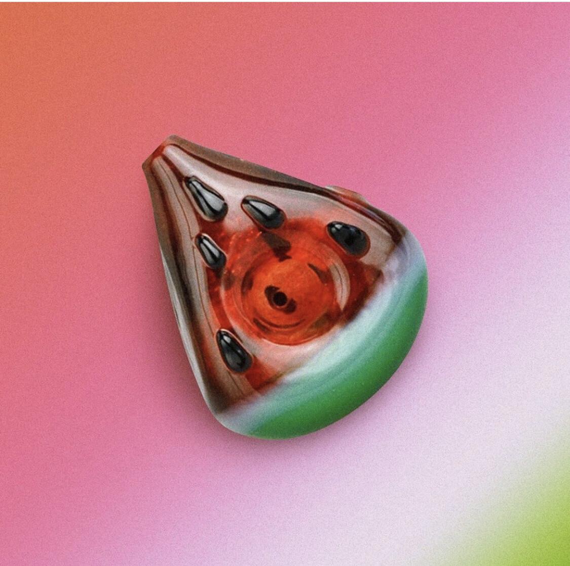 Watermelon Slice Hand Pipe
