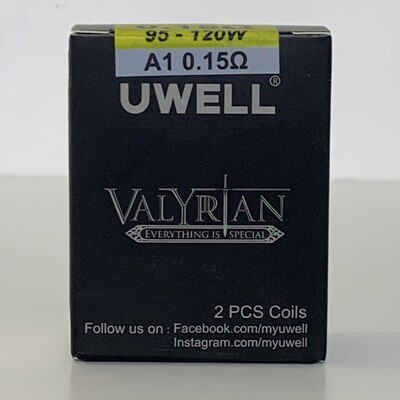 Uwell Valyrian 0.15ohm Coils 2Pack