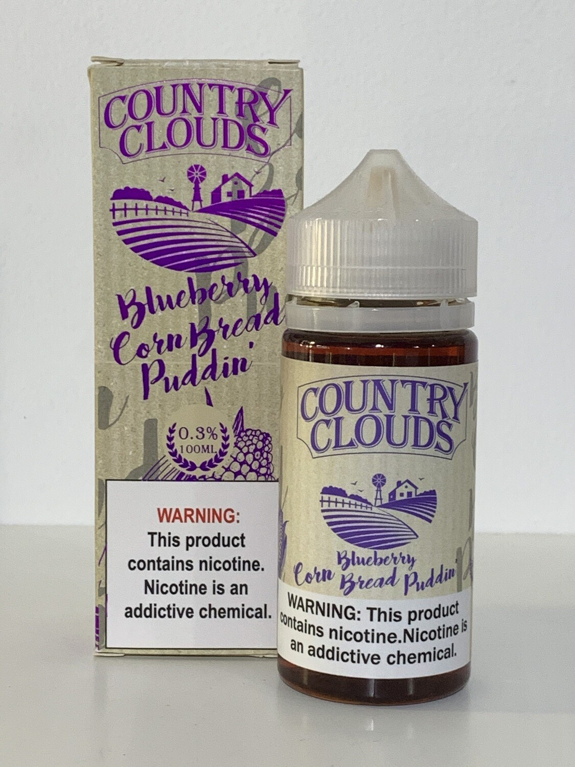 Country Clouds Blueberry CornBread 100ml