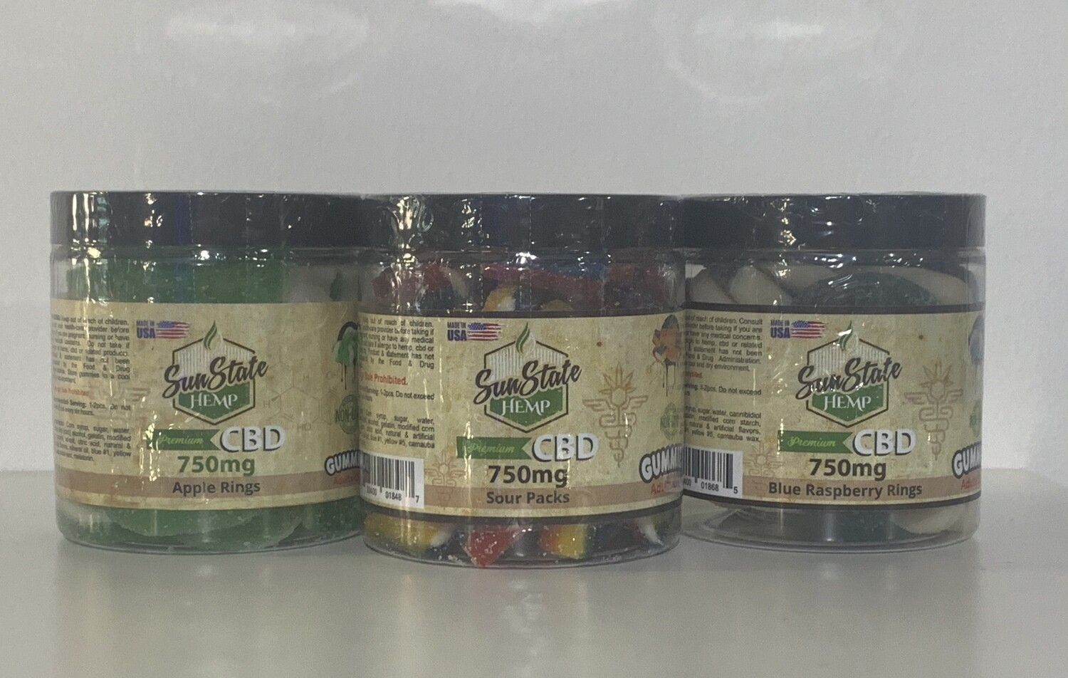 Sunstate CBD Gummies 750mg