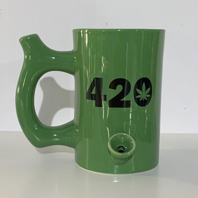 Roast & Toast Mug Pipe 10oz/420 Green