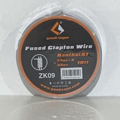 10ft Geek Vape Kanthal A1 Fused Clapton Wire 24ga