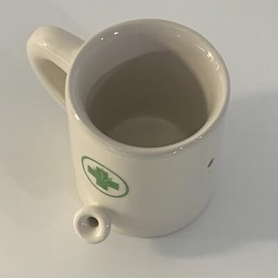 Mini Medical Wake & Bake Mug Pipe 2oz