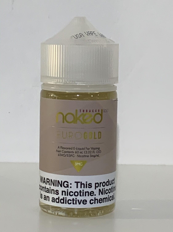 Naked100 Tobacco Euro Gold 60 ML