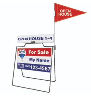 REAL ESTATE A-FRAME SIGNS