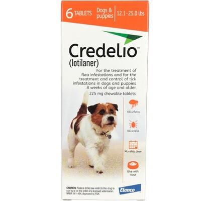 Credelio 12.1-25 lbs, 6 pack ($15 online rebate)