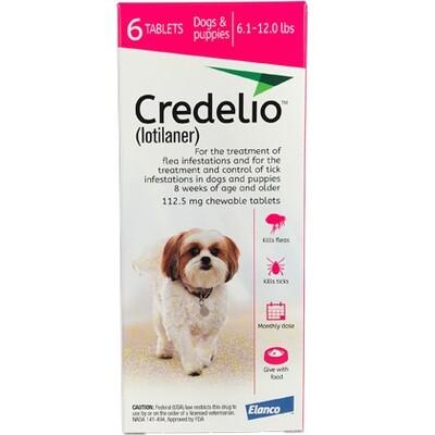 Credelio 6.1-12lbs, 6 pack ( $15 online rebate)