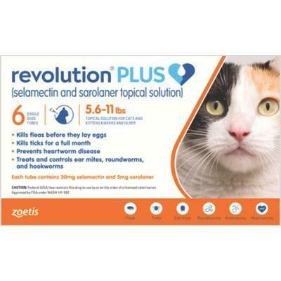Revolution Plus 5.6-11lb Cats ( $15 Rebate)
