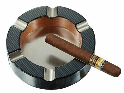 Visol Tyrus Carbon Fiber Round Cigar Ashtray