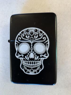 Skull Artwork Dual Torch Lighter
